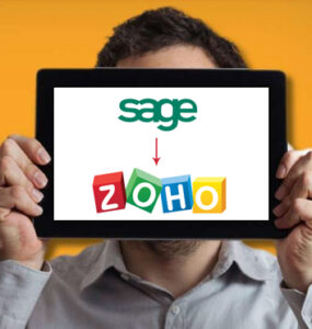 Sage to Zoho Books Migration